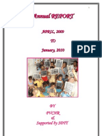 SDTT Annual Report by PVCHR(April 09 to January 2010