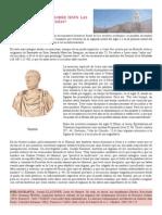 Tema 1. Que Datos Aportan Sobre Jesus Las Fuentes Romanas y Judias