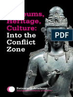 """Kavita Singh on """"Into the Conflict Zone"""""""