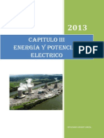 Chapter IV. Fisica III. Energia y Potencial Electrico 2011