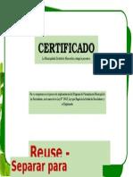 Certificado 2015