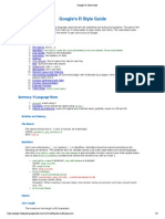 Google R Style Guide