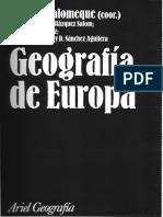 01. López Palomeque Geografía de Europa Presentación y Cap. 1