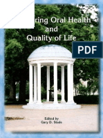 Measuring Oral Health and Quality of Life
