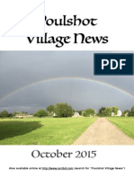 Poulshot Village News  - October 2015
