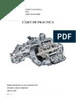 Caiet Practica Service Auto