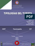 tipologias del turista