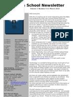 Newsletter 11.3.10