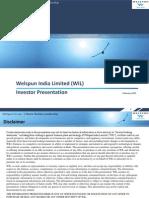 WIL Investor Presentation Feb 2015