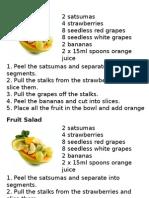 fruit salad practical