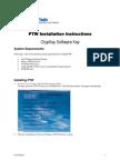 Installation Software Key