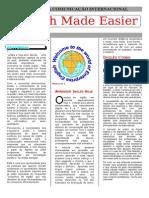 Inglês Para Comunicação Internacional Folder