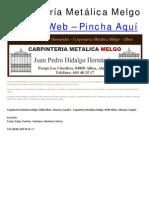 Carpinteria Metalica Melgo, 0480 Albox, Almeria, España - Carpintería Metálica Melgo, 0480 Albox, Almería, España