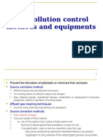 Air Pollution Control Methods and Equipments