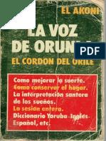 La Voz de Orunla