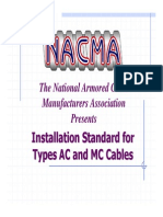 Nac Ma Installation Overview