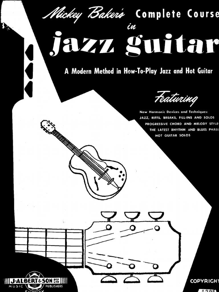 Mickey Bakers Jazz Guitar