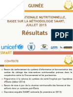 Rapport Enquete Nutrition SMART Guinee 2015