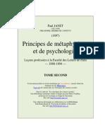 Principes de Metaphysique t2