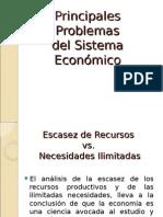 Principales Problemas Economicos