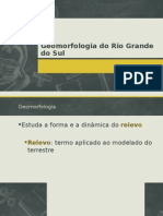 Geomorfolgia Do Rs
