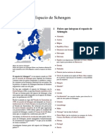 Espacio de Schengen