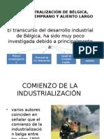 Industralización de Bélgica y Francia