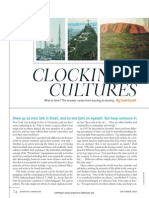 Clocking Cultures, Carol Ezzell