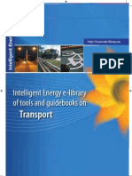 Intelligent Energy e-library of tools and guidebooks on Transport