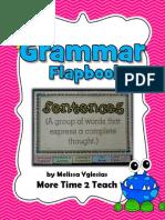 grammarsentencesflapbookfreebie