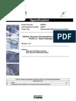 PEPPOL D3_2 - Attachment a Profile 1a