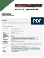 Máster Universitario en Ingeniería Del Terreno (ETSECCPB)