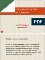 Alfredo Aguirre_Proceso de Adopción de NIIF en El Salvador