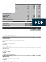 Bauelements Costs & Delivery Report
