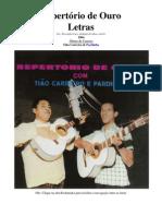 Tião Carreiro e Pardinho - Letras - 05 - Repertório de Ouro - 1964