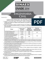 Engenharia Civil Enade 2014