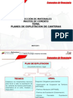 Planes de Explotacion