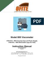 manual viscosimetro Ofite
