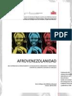 Catálogo Afrovenezolanidad 1989 -(Bibliohemerografía)