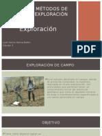 Exploración geológica
