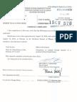Bibbs Complaint Filed