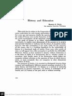 Historia y Educacion