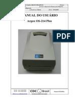 Manual Argox Os214plus