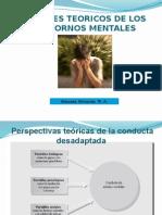 Enfoques Teoricos de Los Trastornos Mentales