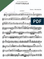 Milhaud - Pastorale, Op. 147 (Parts)