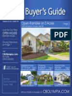 Coldwell Banker Olympia Real Estate Buyers Guide September 26th 2015