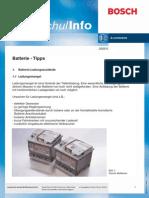 Batterie - Tipps