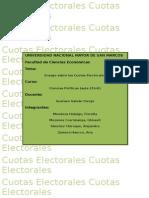 cuotas electorales