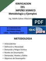 CONFERENCIA DESEMPEÑO SISMICO