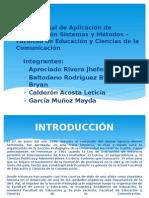 Organizacion, sistemas y metodos